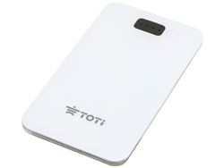 Slim Cut Power Bank T-PB10W White